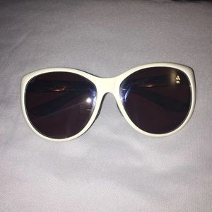 Costa Del Mar Sunglasses, White, Women's